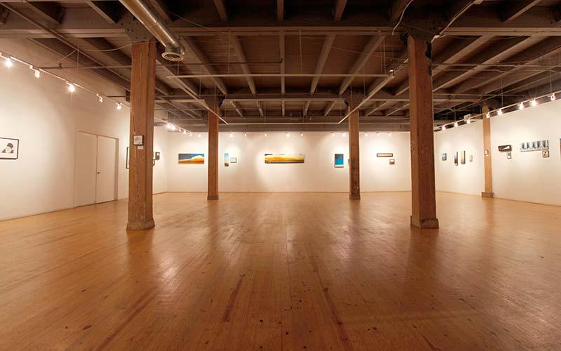 Nicholas St Gallery floor