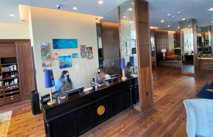 Peregrine Hotel Lobby