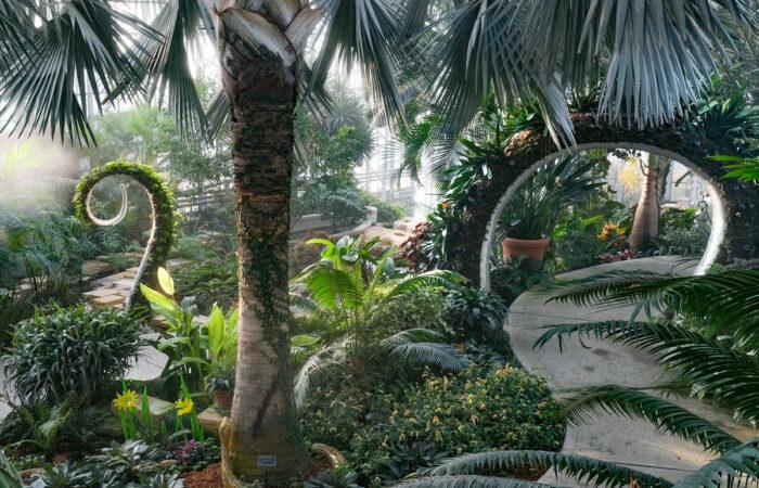 Lauritzen Gardens Exhibit